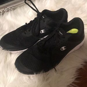 CHAMPION | Black and White Sneakers